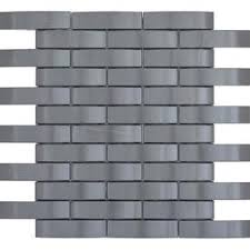 emser gleam 10 pack graphite metal border tile mon 11 in x