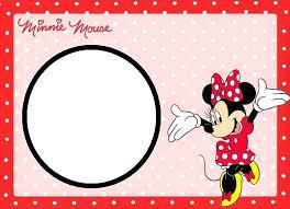 Minnie Mouse Birthday Cards Mickey Free Printable Card