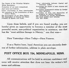 race creed and color st louis park historical society kkkmasonicobserver1922 2