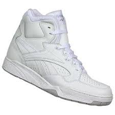 reebok high tops. reebok men\u0027s bb4600 high top athletic shoe - white tops