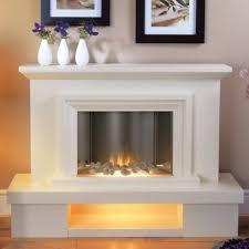 flamerite milan electric fireplace suite