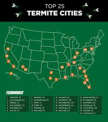 terminix houston tx. Modren Terminix CORRECTING And REPLACING GRAPHIC Terminix Releases Top 25 Termite Cities  List To Houston Tx T