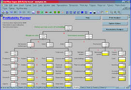 Financial Forecasting Excel Templates Screen Shot Business Plan Software Template Financial Projections