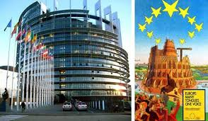Image result for eu parliament building tower of babel