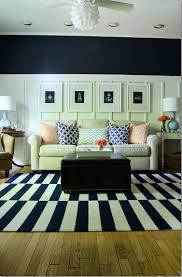 Navy Rug Living Room Navy And White Board Batten Living Room Design