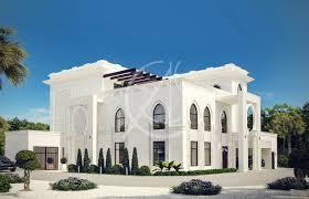 Islamic Design House Jeddah White Modern Islamic Villa Exterior Design Comelite