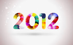happy new year 2012. Perfect Happy How To Create Happy New Year 2012 Colorful Greeting Card In Photoshop CS5 On