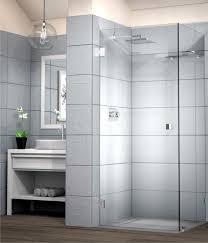 image 90 hinge door frameless shower
