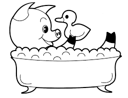 Small Picture Wonderful Ideas Baby Animals Coloring Pages Cute Animal To Print