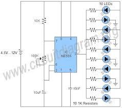 running led circuit diagram using transistor electrical wiring running led circuit diagram using transistor