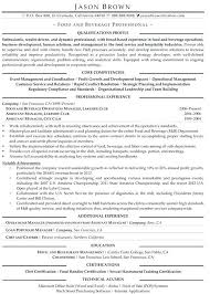 Food And Beverage Manager Resume Samples Experience Print Thus