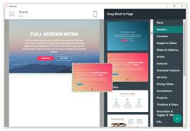 Web Design Using Templates And Wysiwyg Best Free Website Builder Software 2019
