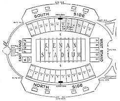 Memorial Stadium Interactive Seating Chart Particular Kenan Stadium Seating Map Yankee Stadium