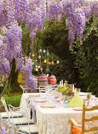 Outdoor Table Decor Dining Room Creative Easter Table Decoration Ideas To Inspire