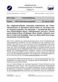 Lesen sie die beiträge zu den erfahrungen mit der telefonnummer +4966558455: Arbeitskreis Der Unternehmerfrauen Im Handwerk Ufh Fulda De