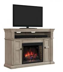 classicflame wyatt tv stand for tvs up to soft gray white electric fireplace insert sold separately get more s the pin home decor