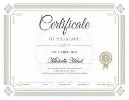 fake marriage certificate online fake certificates hloom com