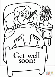 Weird Get Well Soon Coloring Pages Grandpa Page Free Printable 10523
