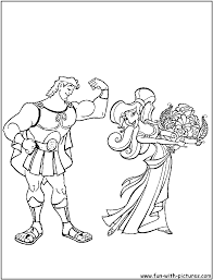 Hercules Coloring Pages On Disney Coloring