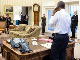 the oval office white house. In Front Of It There\u0027s The New Avaya 9608, July 13, 2015. (White House Photo By Pete Souza - Click Oval Office White S