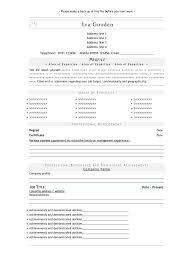 Online Resume Template Word Lcysne Com
