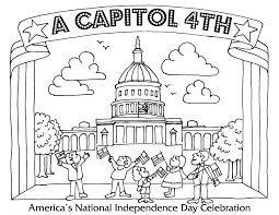 Small Picture Fourth of July Coloring Pages A Capitol Fourth PBS