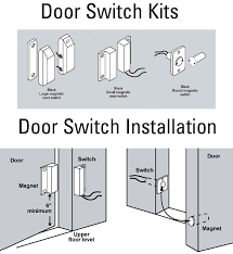 rv windows magnetic reed switch wiring diagram door switch installation guide