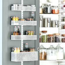white utility wall with mesh baskets closetmaid storage pantry door rack ktstylesme com