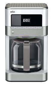 Clean Light On Braun Coffee Maker Braun Kf6050wh Brewsense Drip Coffee Maker White Amazon Co