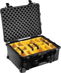 Pelican Case Size Chart Pelican Case 1564 With Padded Dividers Black