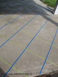 Image Pavers More Tile Patterns With Tape For Staining Concrete Floors Pinterest Staining Concrete Floors Home Redo Concrete Patio Concrete