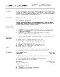 Undergraduate Student Resume Examples Undergraduate College Resume