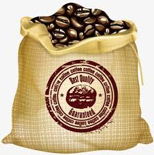 coffee beans bag. Wonderful Coffee Bag Of Coffee Beans Bag Pocket Vector PNG And With Coffee Beans Bag