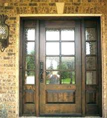 wooden front door with glass. Wonderful With Front Door Glass Arched Doors With Wood Replacement Wooden Full Size Inside O
