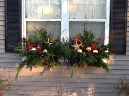 Christmas Window Box Decorating Ideas christmas window box Holiday window boxes Christmas outside 2