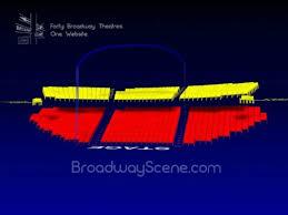 Gerald Schoenfeld Interactive 3 D Broadway Seating Chart