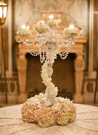 crystal chandelier table centerpieces new table candle chandelier centerpiece fl arrangement on the of crystal chandelier