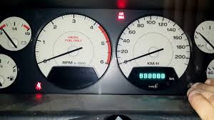 2001 Jeep Grand Cherokee Check Gauges Light How To Test Dash Cluster On 01 04 Jeep Grand Cherokee