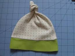 Baby Hat Pattern Inspiration Baby Knot Hat Pattern And Tutorial AllFreeSewing