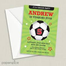 Soccer Party Invite Soccer Party Invitation Football Party Invite Kids Birthday Party Invitation Diy Printable Personalized Digital File