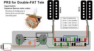 deaf eddie's collection of drawings and info 2 Humbucker Wiring Diagrams double fat tele