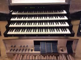 Organ Console Lights Knuth Organ Acusticum