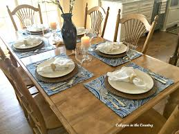 Kitchen Table Setting Calypso In The Country Summer Inspired Kitchen Table Setting