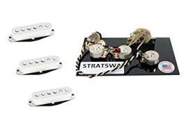 amazon com dimarzio true velvet pickup set white for fender dimarzio true velvet pickup set white for fender stratocaster wiring harness