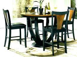glass pub dining table set glass pub table set black pub table set pertaining to glass