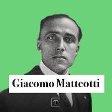 Treccani - Per anni, Giacomo Matteotti denunciò il...