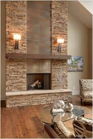 brick fireplace decorating ideas 33 best interior stone wall ideas and designs for 2018