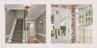 House Entrance Wall Design 24 Wallpapered Foyers For A Gorgeous Home Entrance