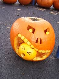 Enchanting Accessories For Halloween Decoration With Cute Couple Pumpkin  Carving Ideas : Good Picture Of Accessories