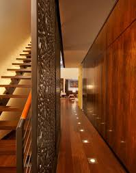 in floor lighting. In-floor Lighting In The Hall Provides Perfect Ambient Illumination [Design: Eljin Construction Floor I